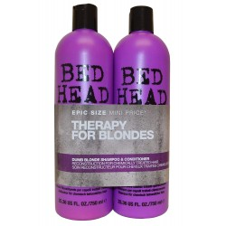 BED HEAD DUMB BLONDE 2 X 750ml