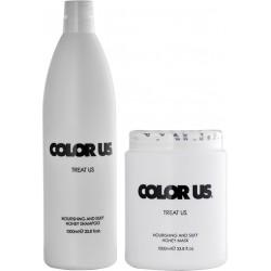 COLOR US - Šampon 1l + Maska 1kg