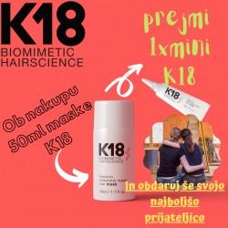 K18 Molecular Repair Mask 50ml + 1X MINI K18 GRATIS
