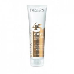 REVLONISSIMO 45 DAYS 2IN1 Šampon in balzam z dodanimi pigmenti GOLDEN BLONDES