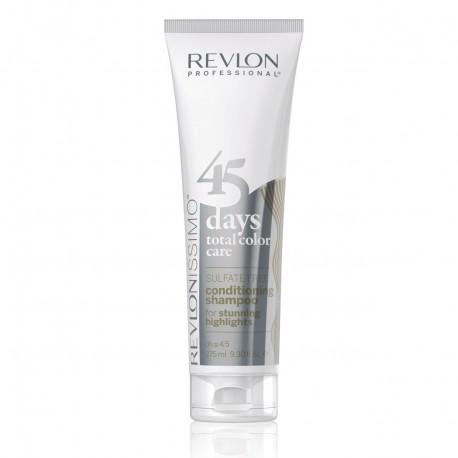 REVLONISSIMO 45 DAYS 2IN1 Šampon in balzam z dodanimi pigmenti STUNNING HIGHLIGHTS