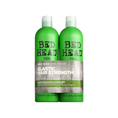 BH Elasticate Twins Proteinski šampon in balzam za vse tanke in krhke lase + DARILO TIGI dežnik